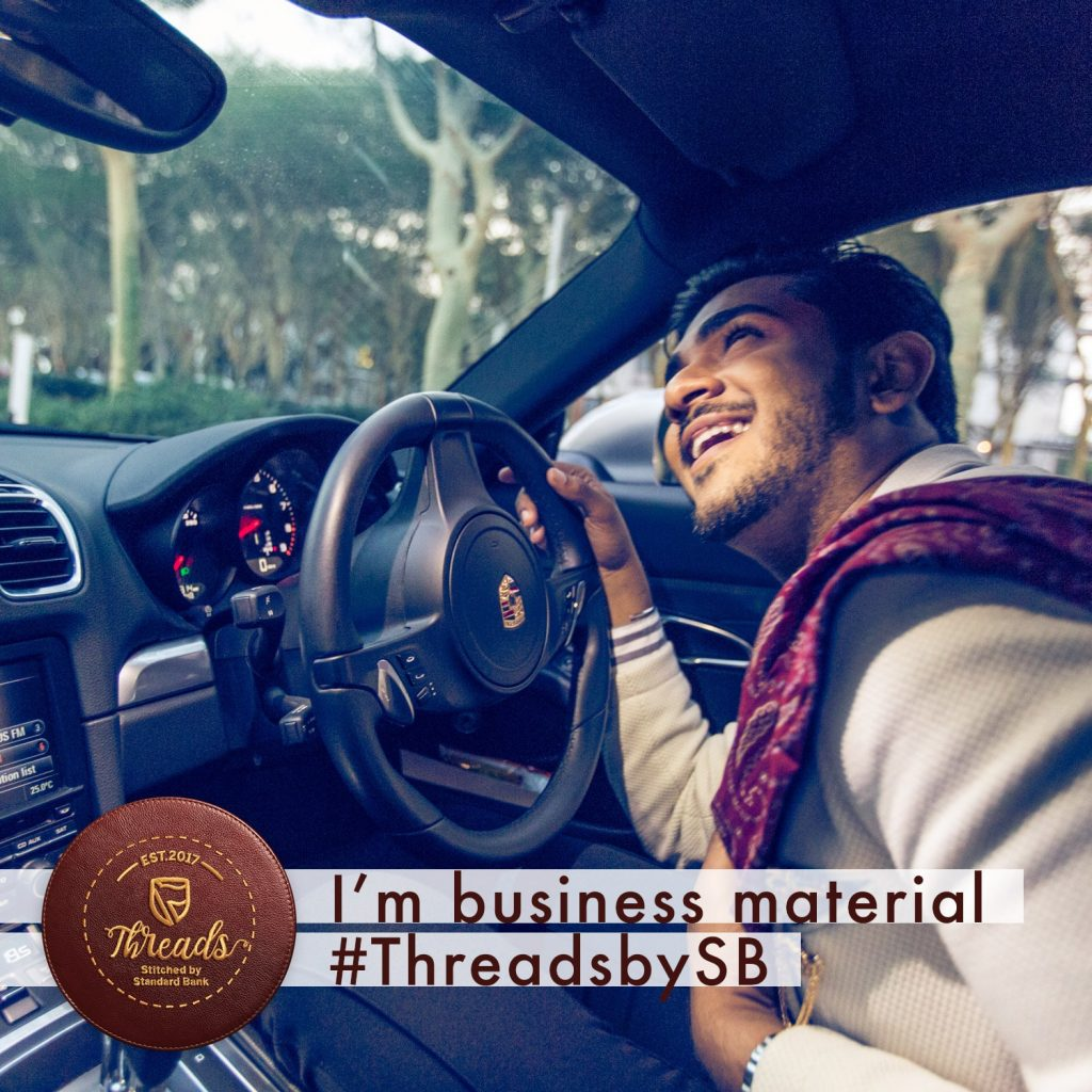 Treven Moodley - #threadsbysb - The business of fashion accelerator program - South Africa
